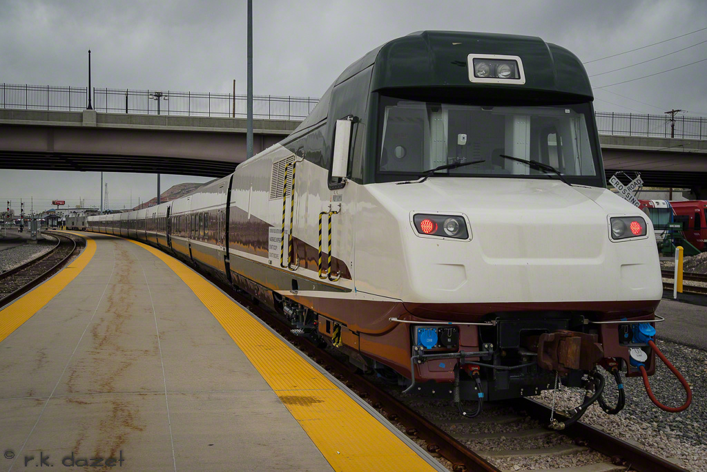 "Oregon's Talgo ""Mount Jefferson"""